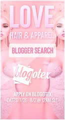 Love [Blogger Search] Summer 2020 - Apply on Blogotex!