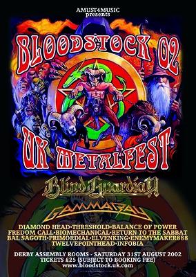 Bloodstock 2002
