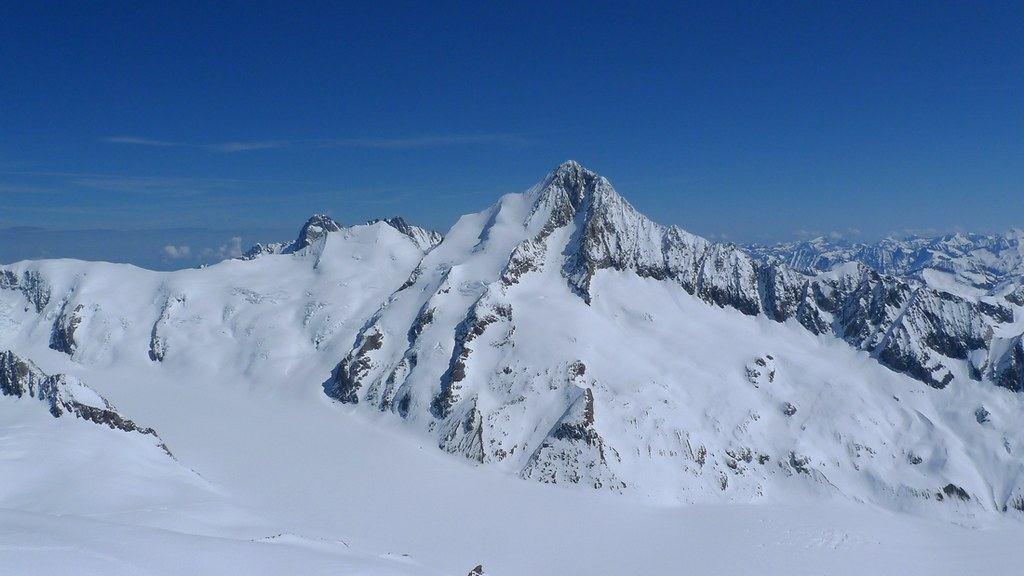 Finsteraarhorn Berner Alpen / Alpes bernoises Switzerland photo 04