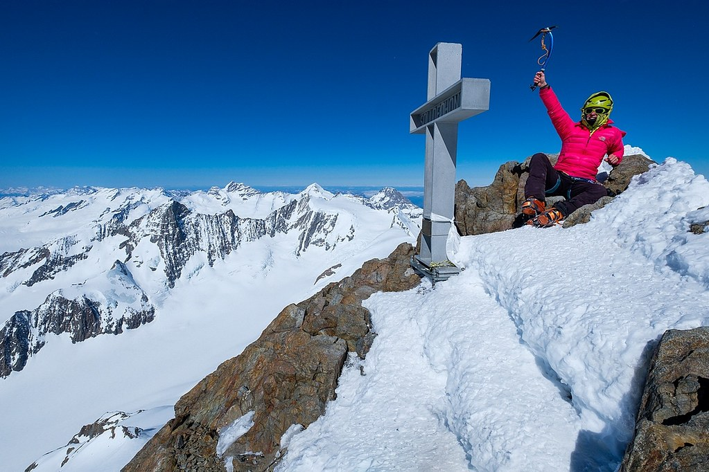 Finsteraarhorn Berner Alpen / Alpes bernoises Switzerland photo 17
