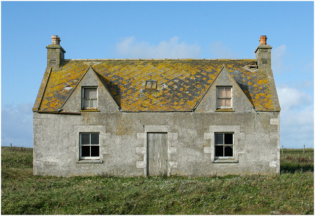 Abandoned Croft, Uist 2008