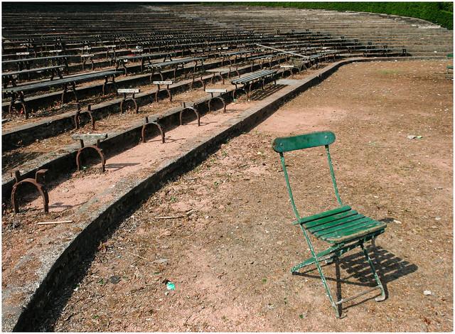 Green Chair, Kelvingrove Park 2009