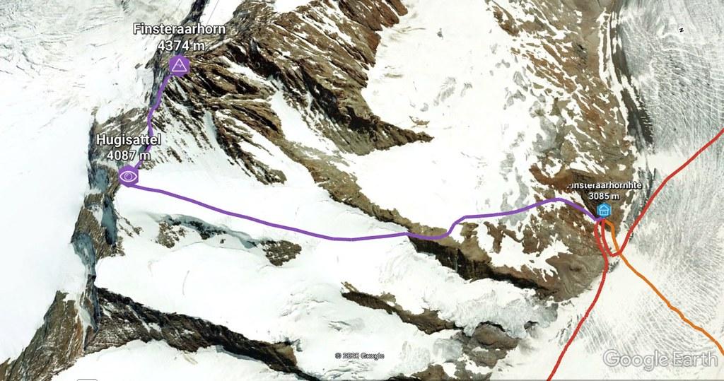 Finsteraarhorn Berner Alpen / Alpes bernoises Switzerland photo 01
