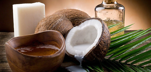 natural coconut walnut oil and soap | by Health Universe