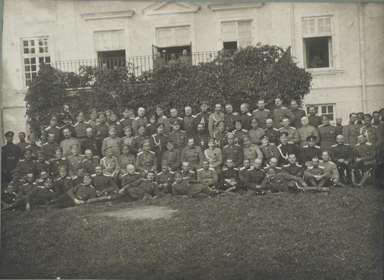 1900-е. Групповой снимок военных
