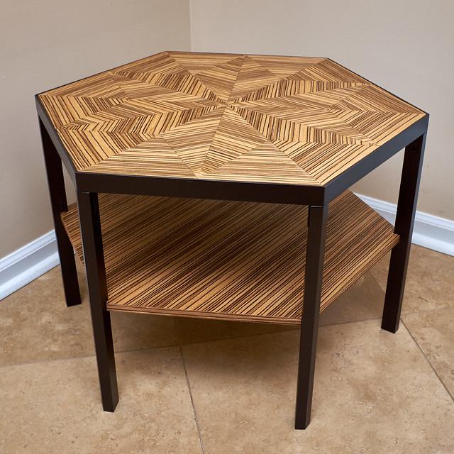 Hexagonal Cocktail Table