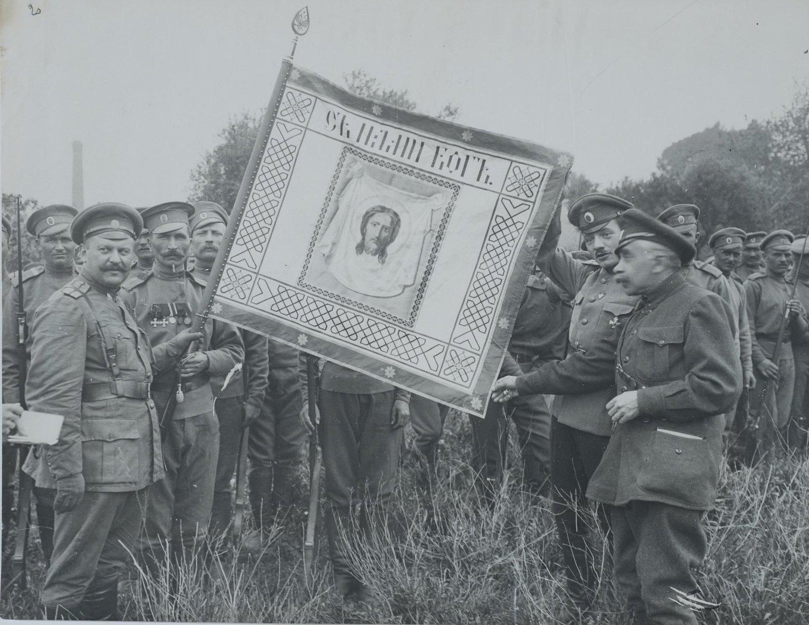 1916. Лагерь в Мирабо вблизи Марселя