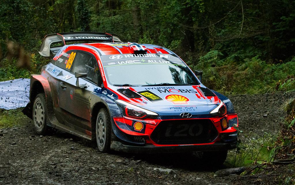 Hyundai i20 WRC - Mikkelson