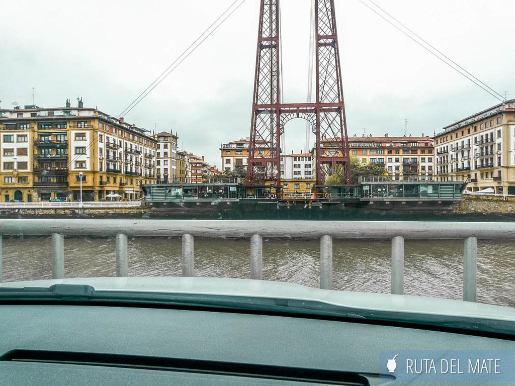 Puente de Bizkaia, imperdible si vas a visitar Bilbao