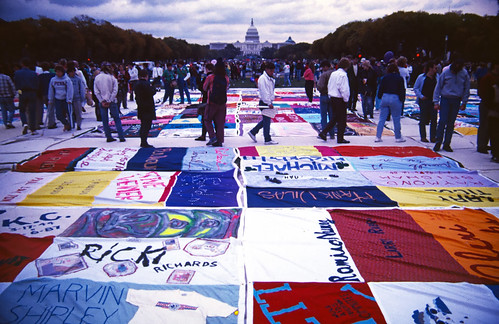AIDS Quilt in Washington DC (1)