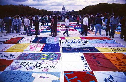 AIDS Quilt in Washington DC (1)