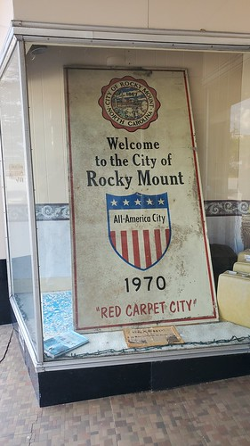 Welcome to the City of Rocky Mount 1970 | by Kevin Borland