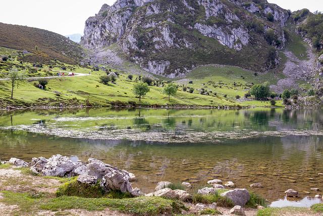 Spain - Asturias - Covadonga - Enol Lake