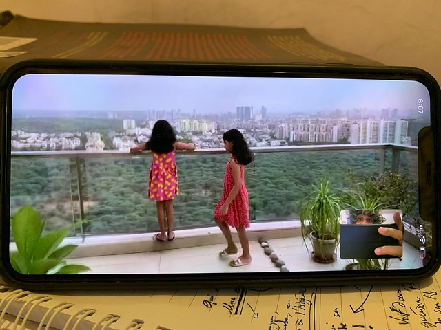 Home Sweet Home - Arunima Pakalapati's 27th Floor Balcony, Gurgaon