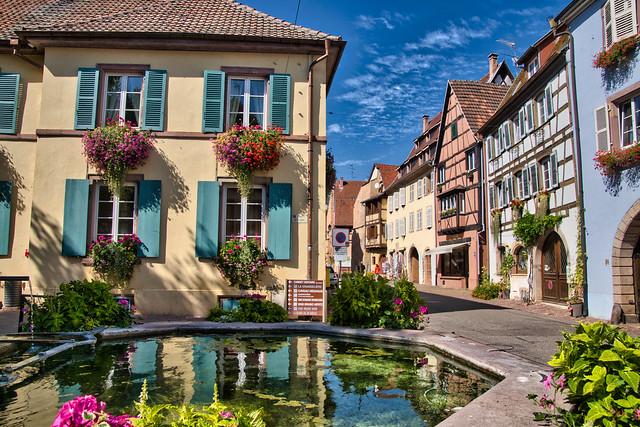 Eguisheim , Alsace