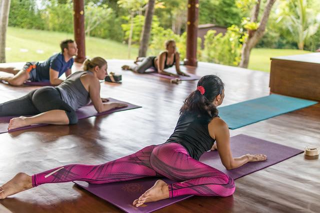 Morning Yoga with Niti @ Mangosteen Ayurveda & Wellness Resort, Rawai, Phuket