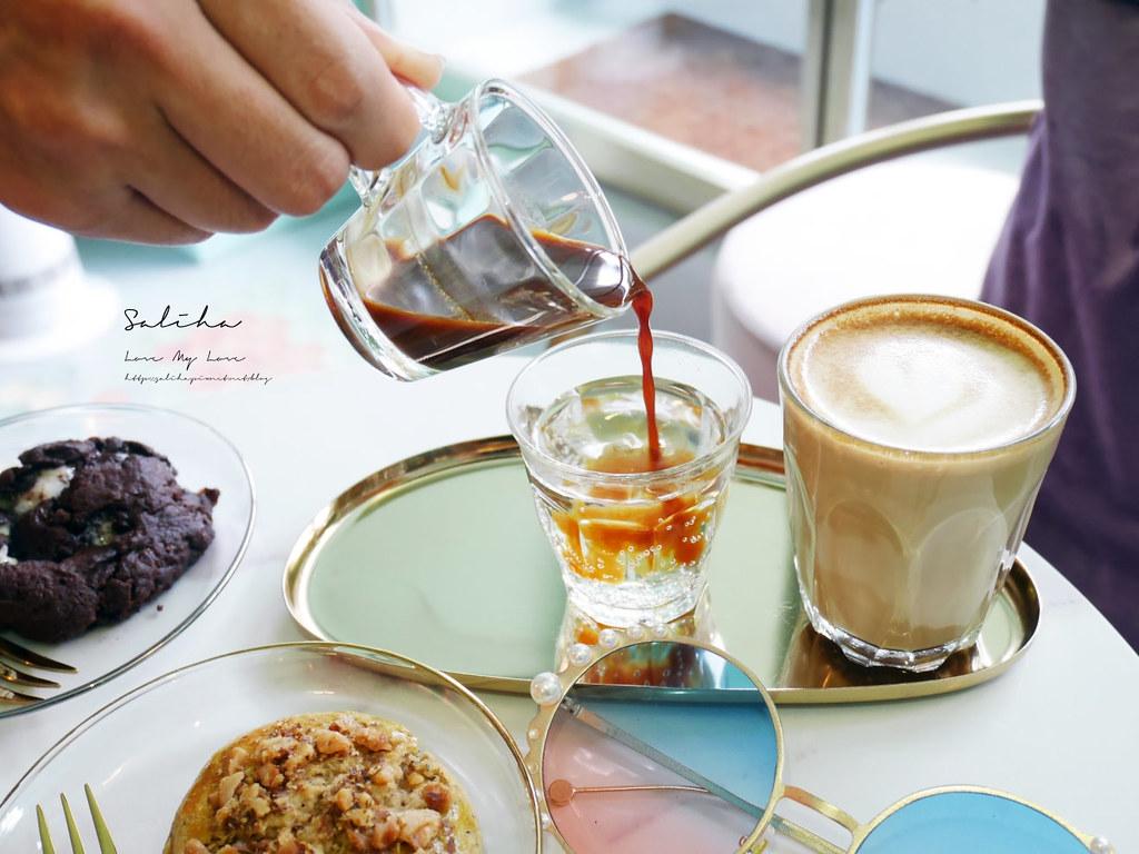 台北不限時下午茶咖啡廳推薦T.ME Cafe士林站附近外帶適合看書閱讀約會的地方 (3)