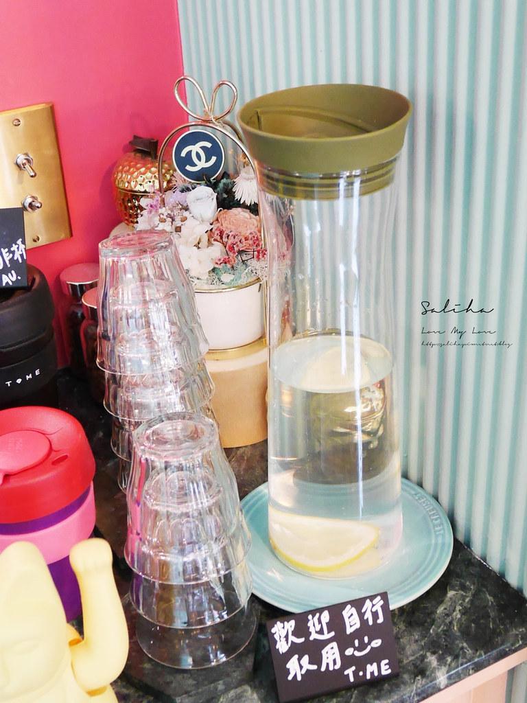 台北網美風咖啡廳下午茶推薦T.ME Cafe士林商圈附近劍潭站外帶飲料ig拍照打卡 (5)