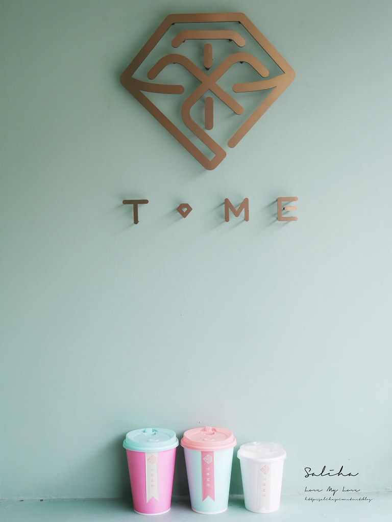 台北網美風咖啡廳下午茶推薦T.ME Cafe士林商圈附近劍潭站外帶飲料ig拍照打卡 (1)