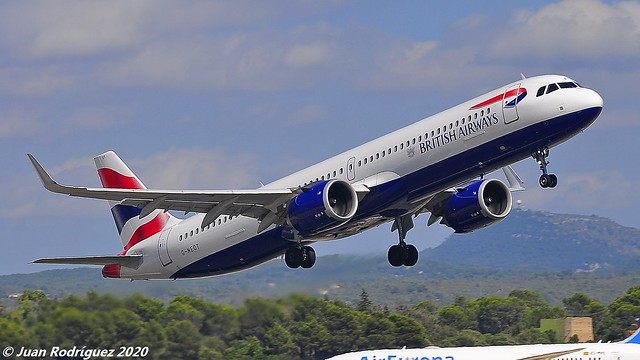 G-NEOT - British Airways - Airbus A321-251NX - PMI/LEPA