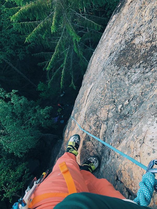 Climbing road trip - Finland