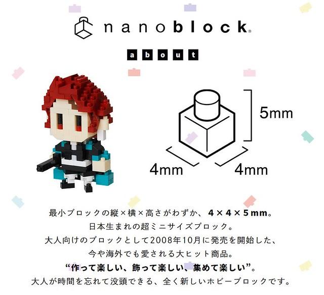 迷你積木鬼殺隊!nanoblock《鬼滅之刃》系列 炭治郎、禰豆子 七款熱門角色登場 【Aniplex+限定】
