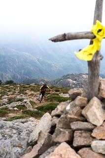 Au sommet du Monte Calva