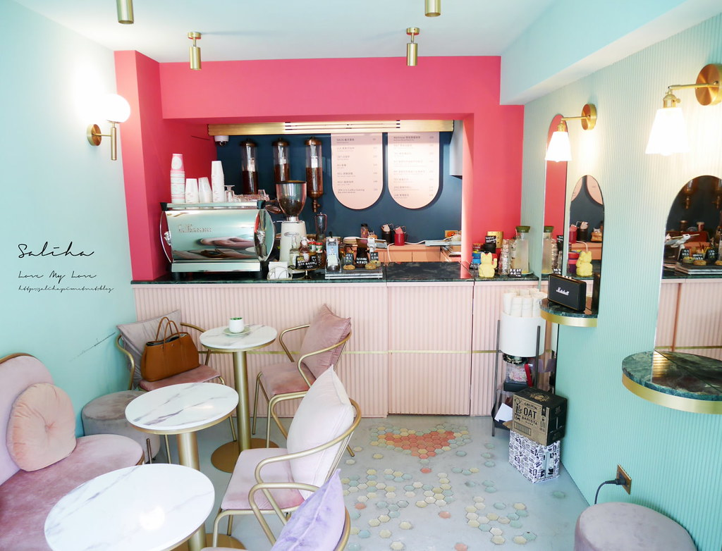 台北超美必拍夢幻浪漫唯美咖啡廳下午茶T.ME Cafe士林站附近可久坐聊天 (1)