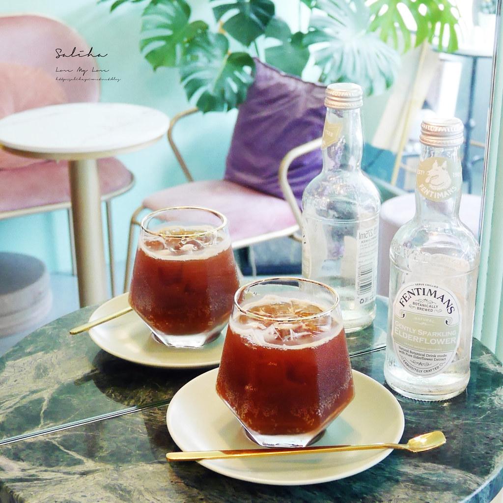 台北士林區超美好拍網美風浪漫咖啡館推薦T.ME Cafe貴婦下午茶可久坐聊天看書約會 (3)