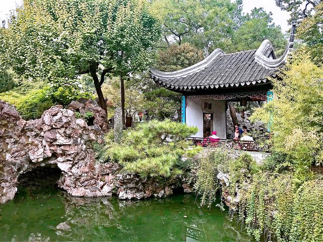 Chine 2018. Suzhou. Les Jardins de la Forêt du lion.