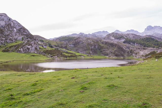 Spain - Asturias - Covadonga - Ercrina Lake