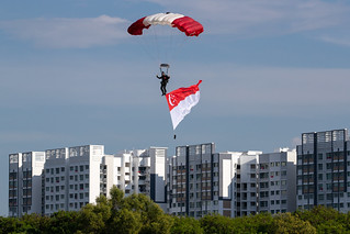Red Lions Parachuter at the Heartland