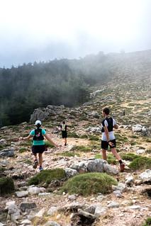 A la descente du Monte Calva