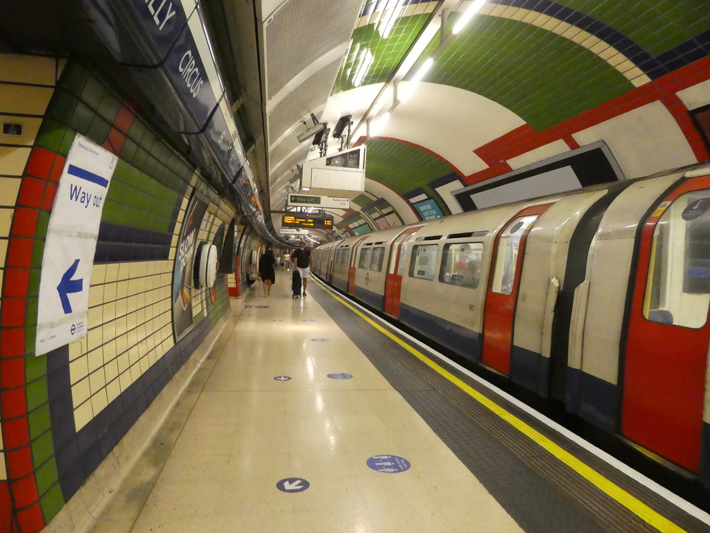 Piccadilly Circus Underground Station, London