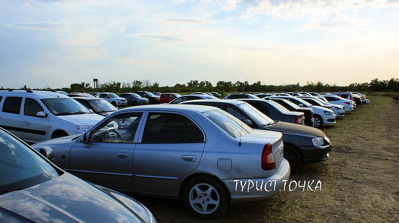 Парковка в Самарском