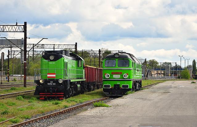 TEM2-145 & M62-1556 | Szczecin Dąbie [PL]