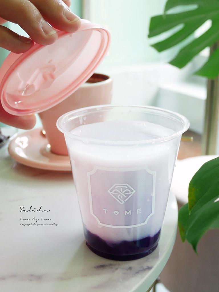 台北ig飲料推薦T.ME Cafe士林夜市附近不限時咖啡廳下午茶可久坐氣氛浪漫 (1)