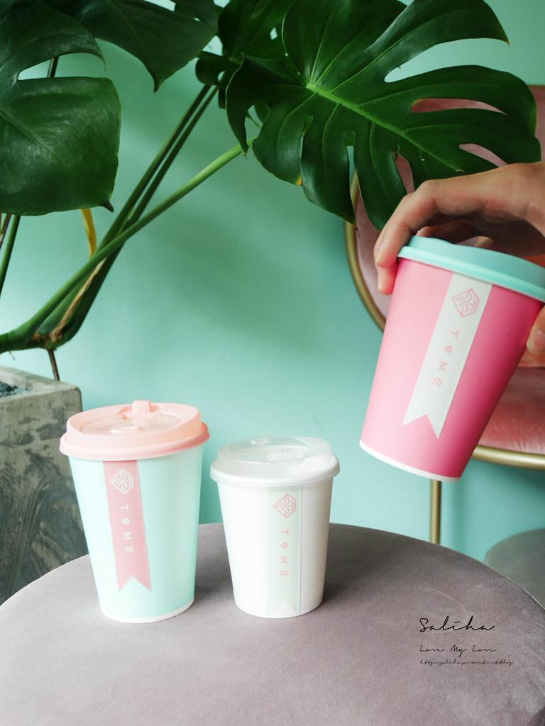 台北ig飲料推薦T.ME Cafe士林夜市附近不限時咖啡廳下午茶可久坐氣氛浪漫 (2)