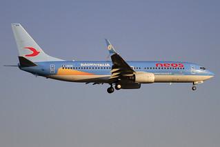 I-NEOW. B-737/800. Neos. PMI.