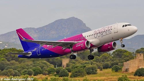 G-WUKD - Wizz Air UK - Airbus A320-232 (WL) - PMI/LEPA