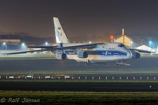 RA-82078 Antonov 124-100 Volga Dnepr airlines Prestwick airport EGPK 20.01-17