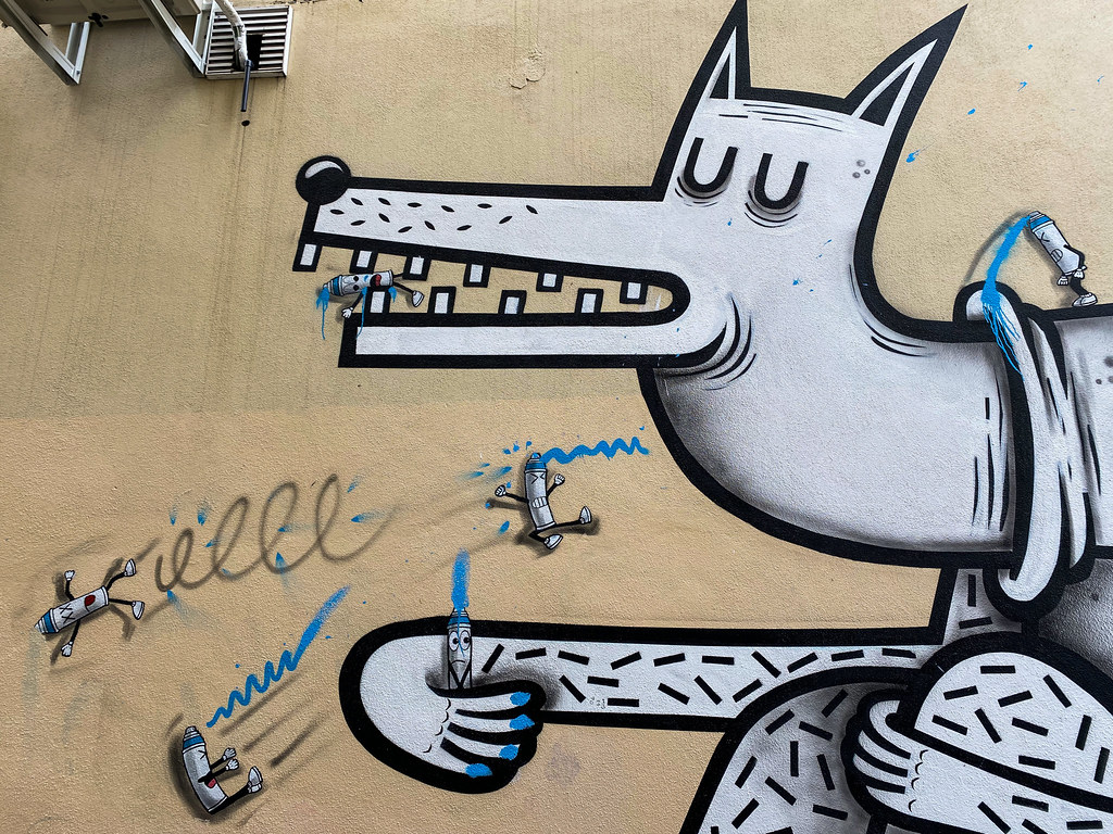 Dog by Joachim & OakOak