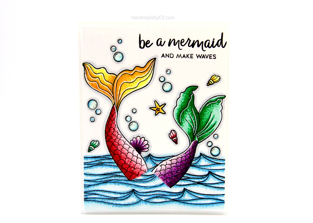 Be a mermaid card1