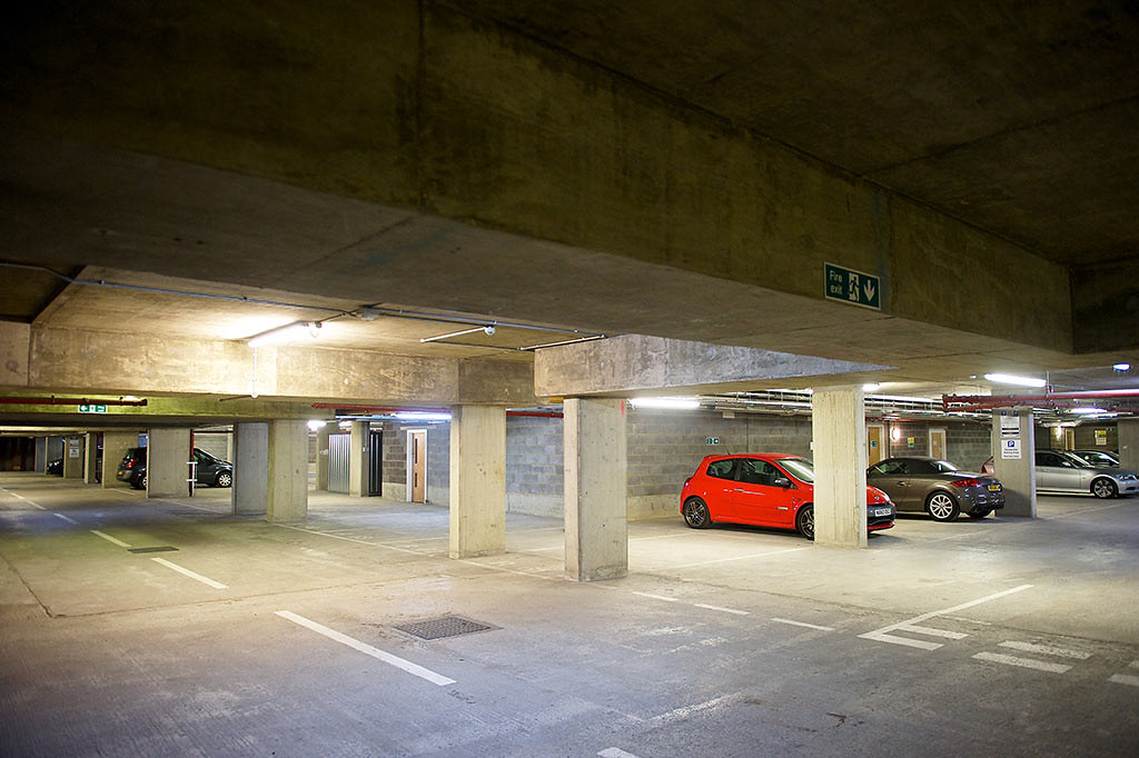 Car park, StayCity Aparthotel, Greenwich