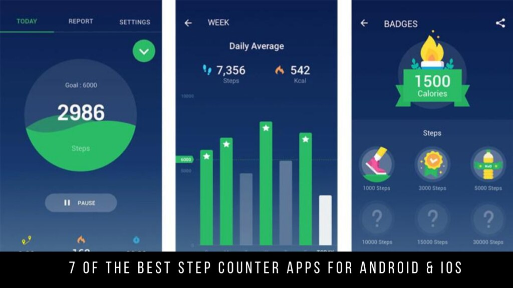 7 Of The Best Step Counter Apps For Android & iOS