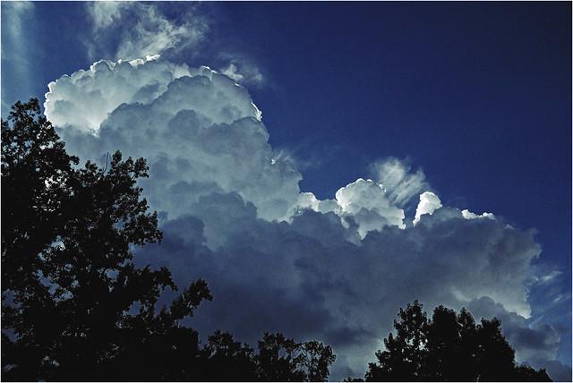 Afternoon Clouds over Marietta, Georgia | Explored!