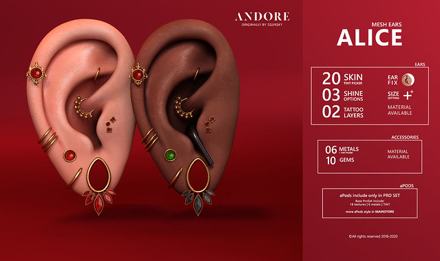 :ANDORE: @ Exlusive Ears for Kinky Event + Giveaway