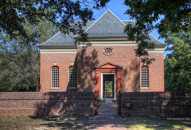 Main Entrance to Historic Christ Church & Museum, Weems, VA
