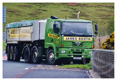 shiloe1514 posted a photo:	Foden Alpha Tipper, X291 NYG, James Booth Bulk Haulage Ltd, Westhoughton.