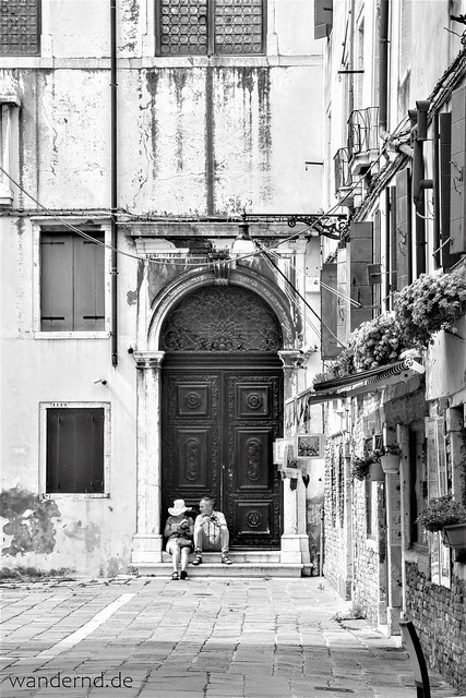 Venedig schwarz-weiß / Venezia bianca-nero / Venice black-white